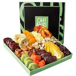 The Oh Nuts Holiday Dried Fruit And Nut Gift Basket Is A Delicious For Family Or Birthday Parties Especially If You Dont Know Your Elderly