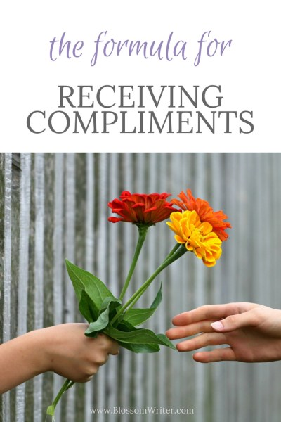 Pinterest The Formual for Receiving Compliments