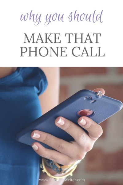 Pinterest Why You Should Make That Phone Call