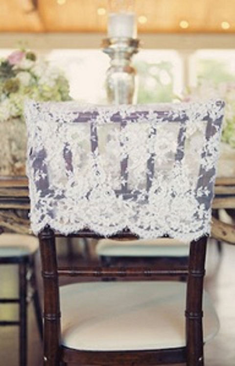 gray chair covers for weddings fabric parsons chairs it's all in the details: six alternative decor ideas - bloved blog
