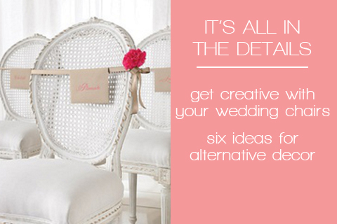 chair cover alternatives wedding church chairs decorations it s all in the details six alternative decor ideas bloved blog afternoon