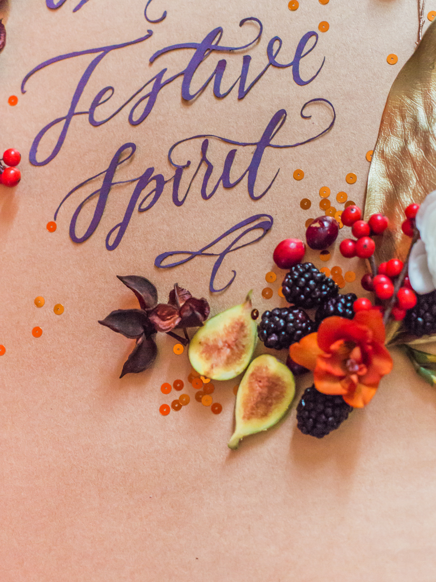 Festive Floral Christmas Calligraphy Download From Gemma Milly