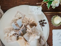 Rustic Luxe Winter Wedding Tablescape Styling And