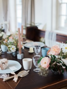 Rustic Wedding Table Scape