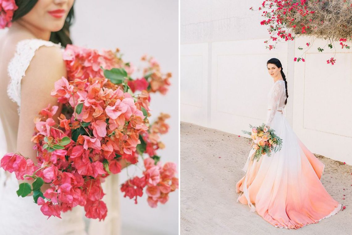 Living Coral: Wedding Ideas Inspired By Pantone's Colour