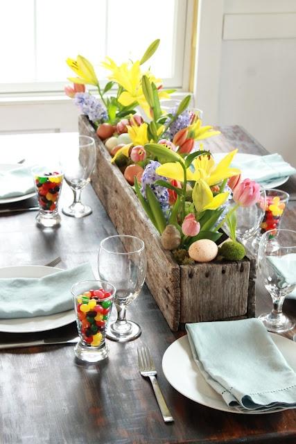 Rustic Easter Centerpiece Ideas  Rustic Crafts  Chic Decor
