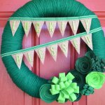 Wreaths of Green, Emerald and Pots of Gold!