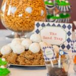 Golf Party Sand Traps- See More Golf Party Ideas On B. Lovely Events