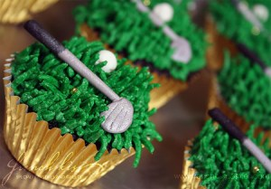 Hole in one Cupcakes!