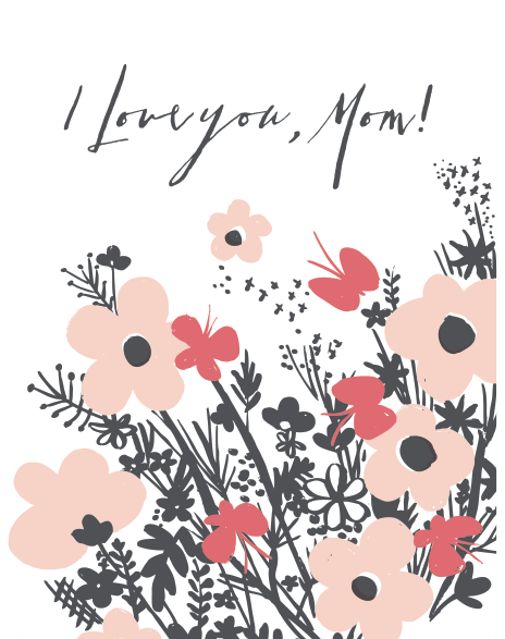 Free Mothers Day printable Card