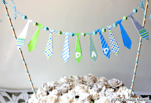It's a Tie! {Father's Day Tie Ideas!}
