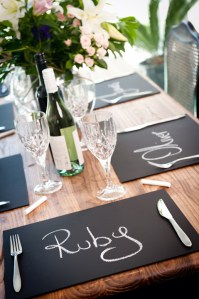 All About Chalkboards! {For Tables!}