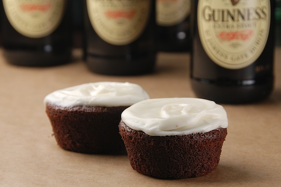Stylish Guinness Alcohol Infused Cupcakes