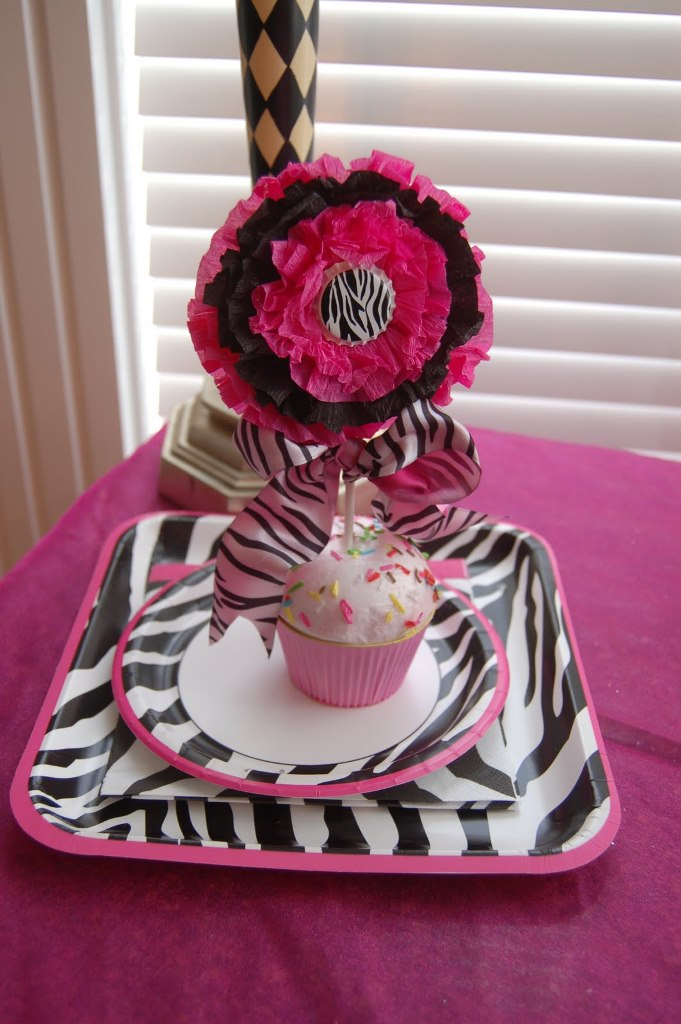 This Sweet 16 Has Zebra Print Written All Over It! - B. Lovely Events