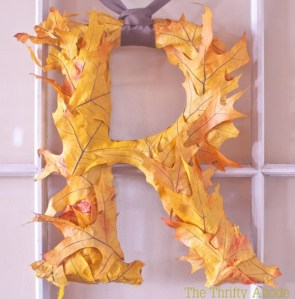 Leafing Fantastic {DIY Fall Leaf Decor!}