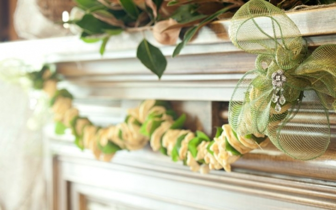 Dried Apple Garland for Fall decorating