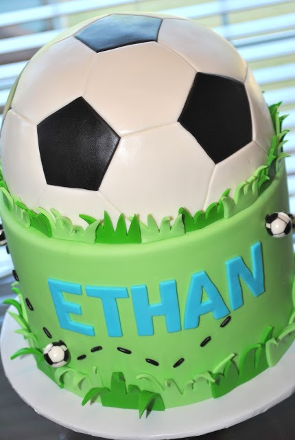 Soccer Themed Wedding Cakes