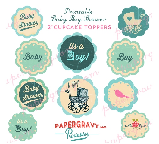 Safari Cake Toppers Baby Shower