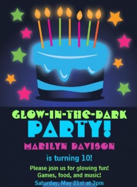 Neon Glow In The Dark Invitation. See More Glow In The Dark Party Ideas On B. Lovely Events
