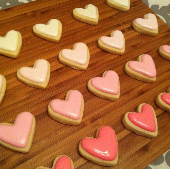 Pink Ombre cookies