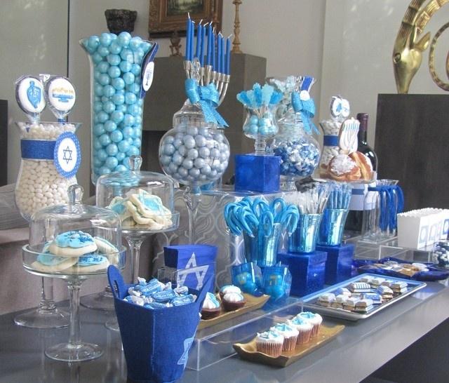 Hanukkah Candy Bar