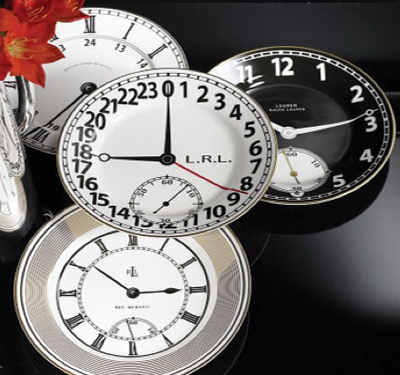 Clock plates for Years eve!