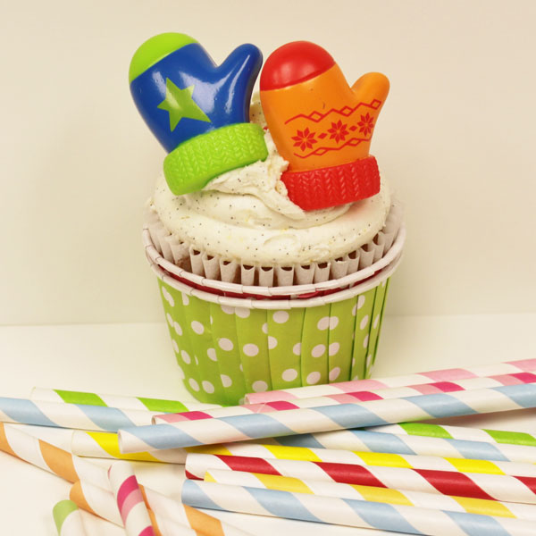 Cute little cupcake decorations