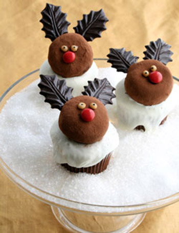 Love these Reindeer cupcakes!