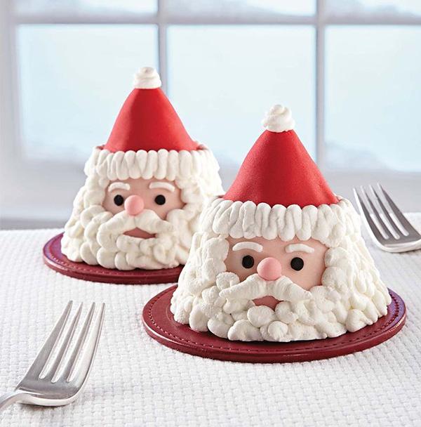 Santa desserts For Christmas!