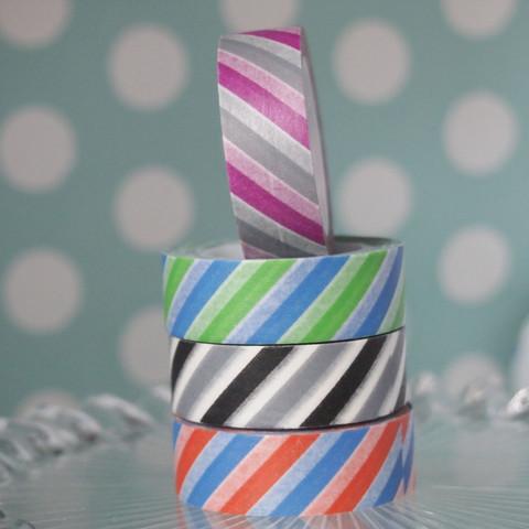 Big Striped Washi Tape