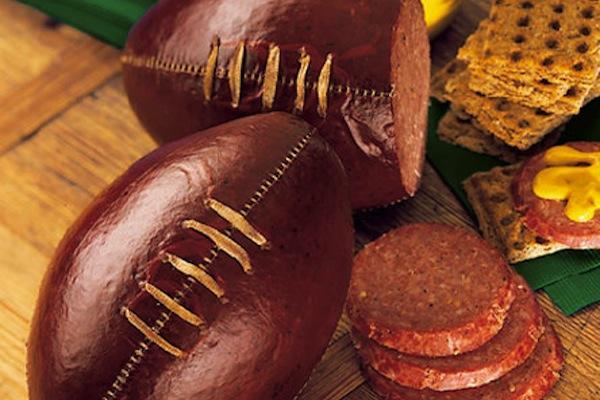 Cool Football salami!