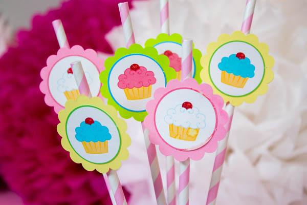 I Love these cupcake Straws