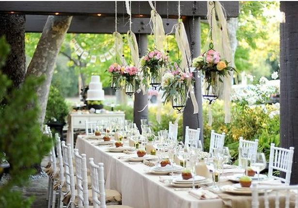 Light And Airy Tablescape