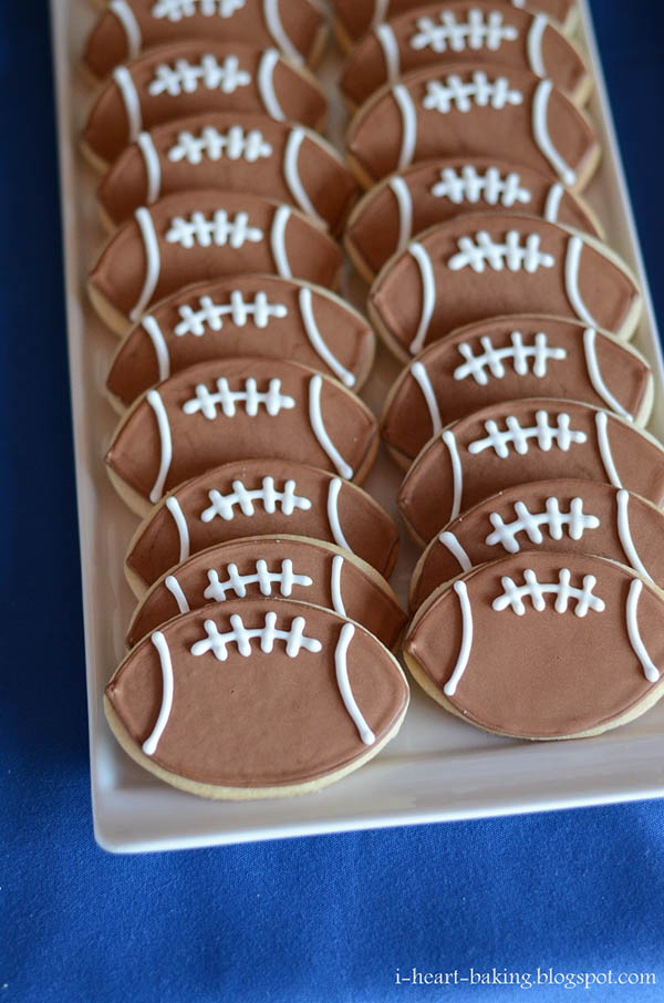 Love these football cookies