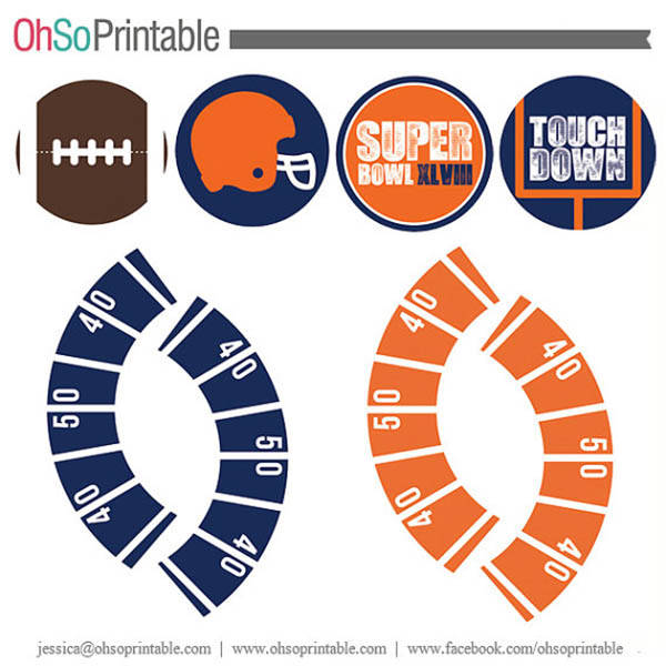 Super Bowl XLVIII Printables