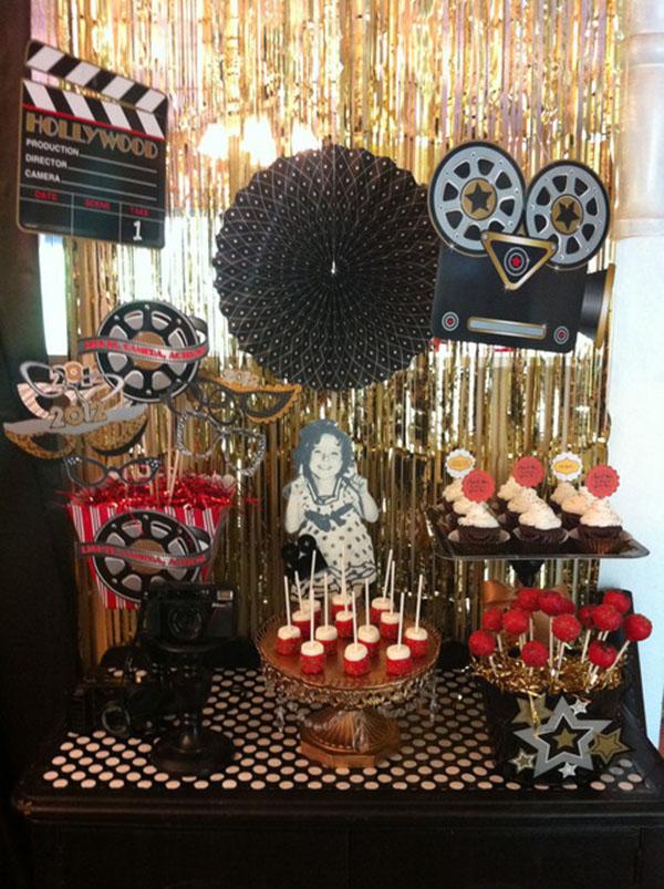 Fabulous cinema oscar party inspiration b lovely events for Oscar decorations
