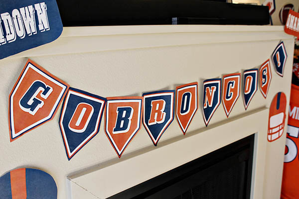 Go Broncos party banner!