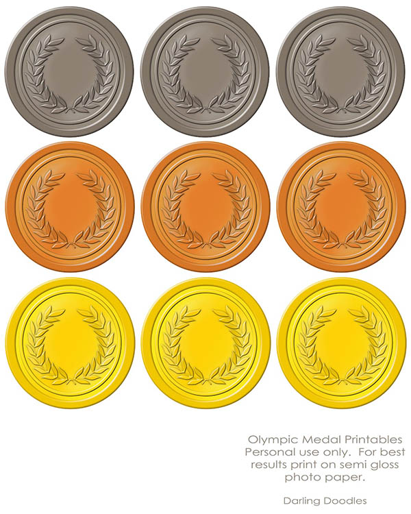 Olympic Printables!! - B. Lovely Events