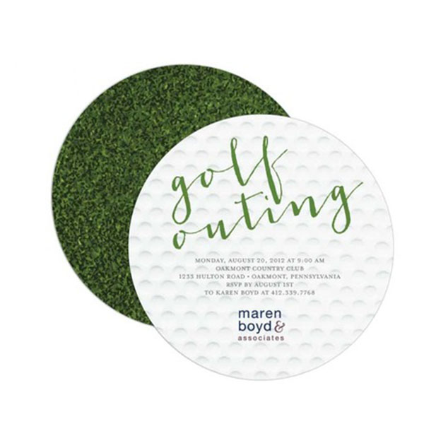 Love these Golf Party Invitations