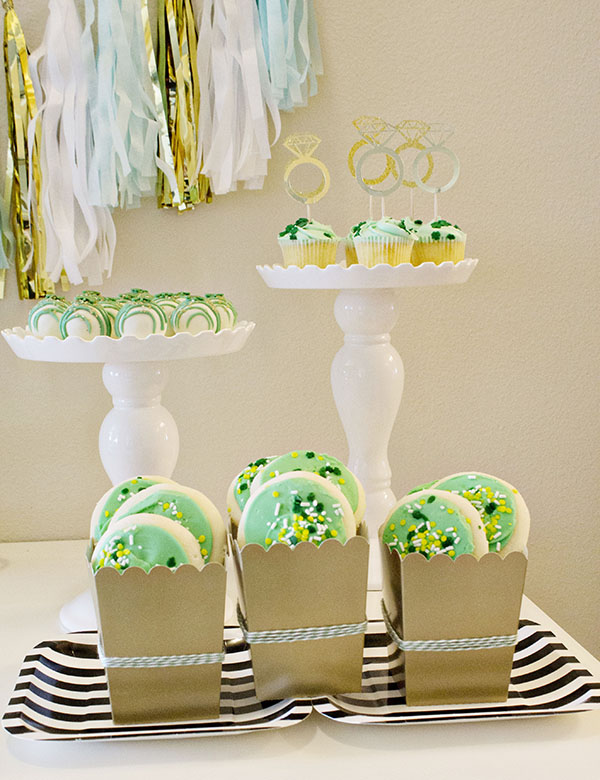 Lucky In Love Engagement Party With A St. Patrick's Day twist! -B. Lovely Events