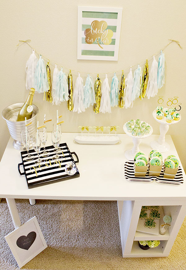 Lucky In love Engagement Party With Beautiful Inspiration. - B. Lovely Events