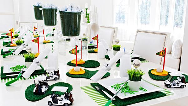 Modern Golf Party- so cute!