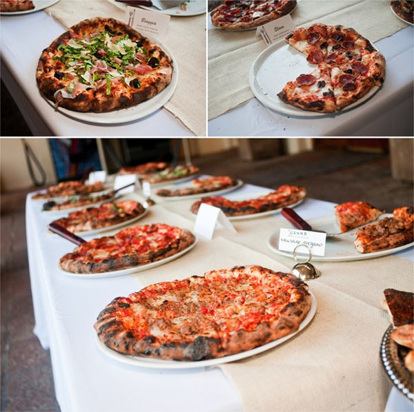 Pizza Bar At A Wedding-Amazing!
