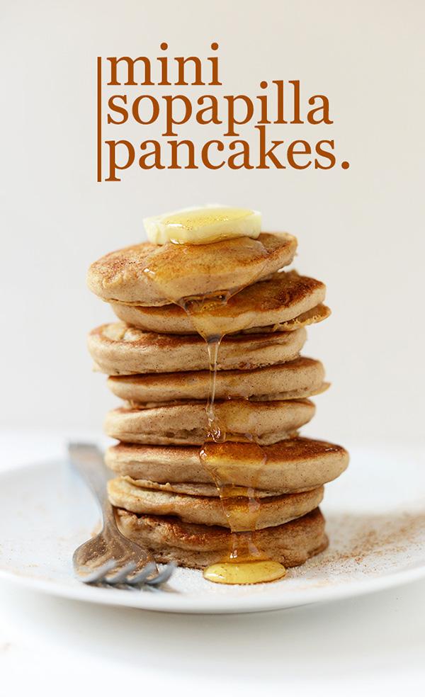 Sopaipilla pancakes! Yumm! Lovely cinco de mayo treat