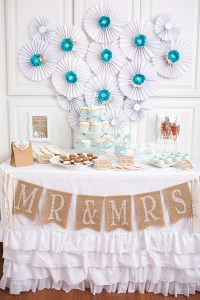 Lace & Pearls Bridal Shower