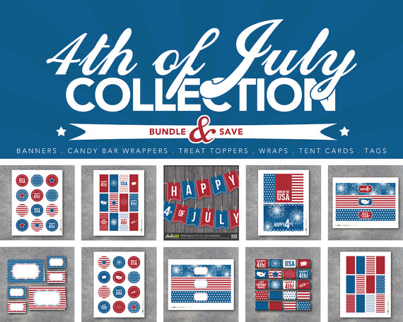 4th of July Free Printables Giveaway