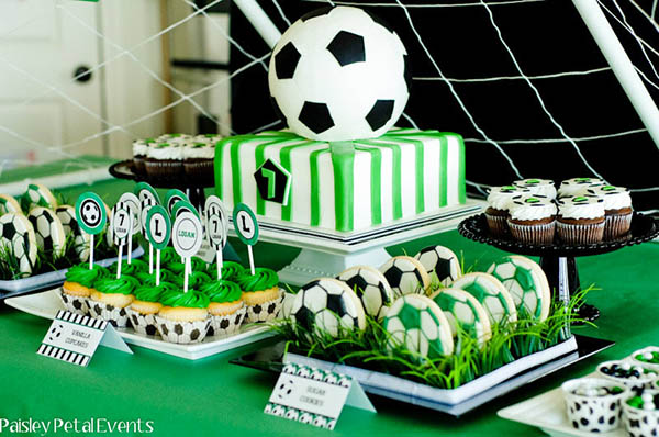 Adorable soccer party!