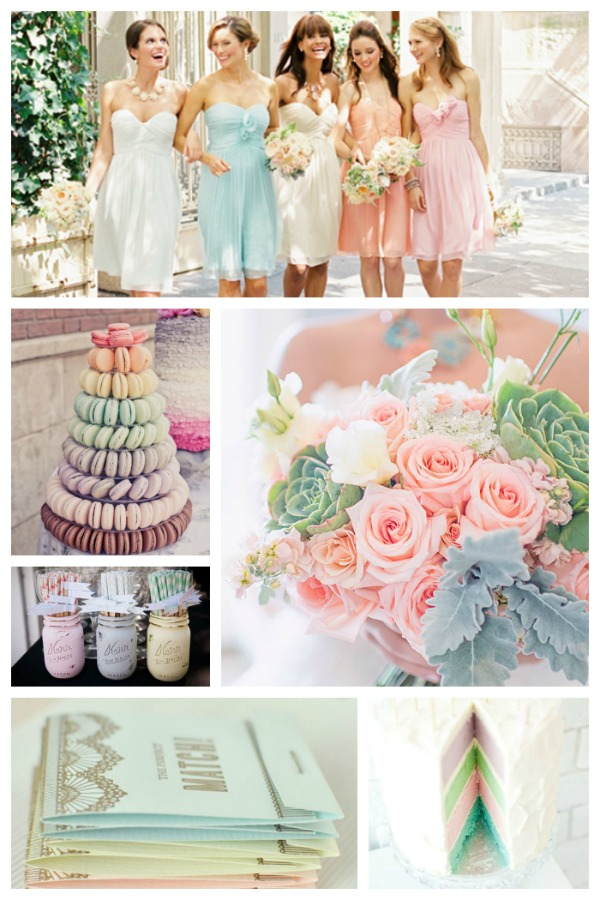 Pastel Wedding Ideas B Lovely Events