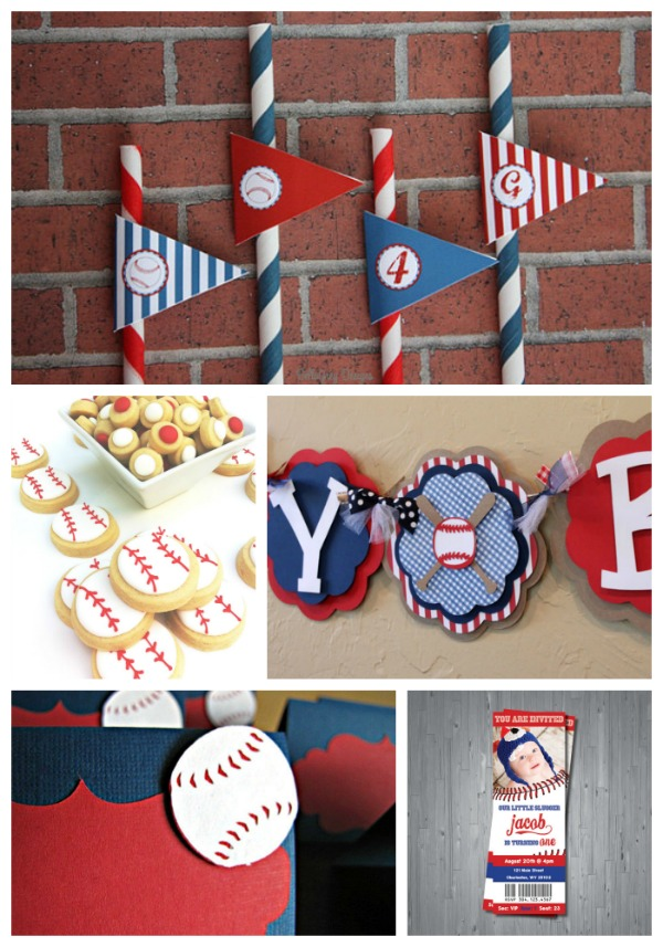 Baseball Party Etsy Finds!