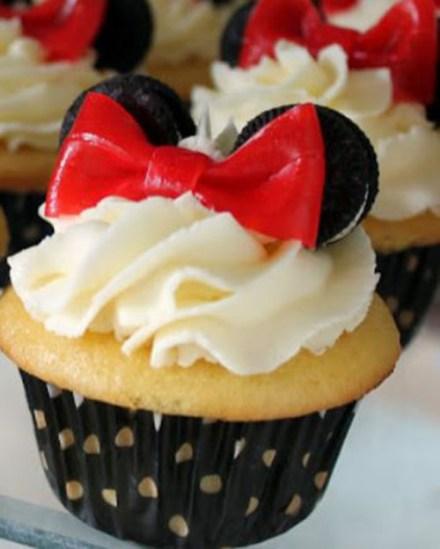 Cute Minnie Mouse cupcakes!